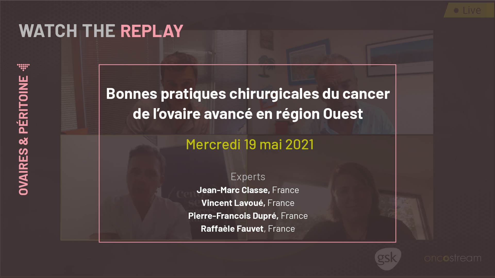 Bonnes pratiques chirurgicales du cancer de l'ovaire avancé en région Ouest