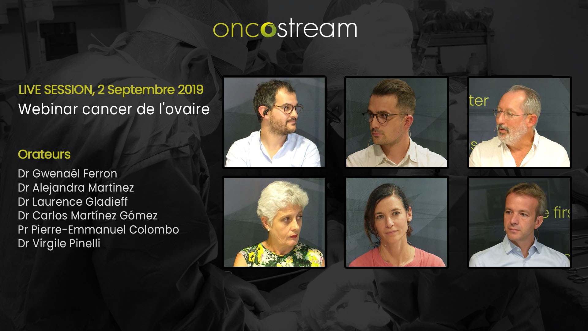 Cancer de l'ovaire : Cycle de formation en 3 Webinars