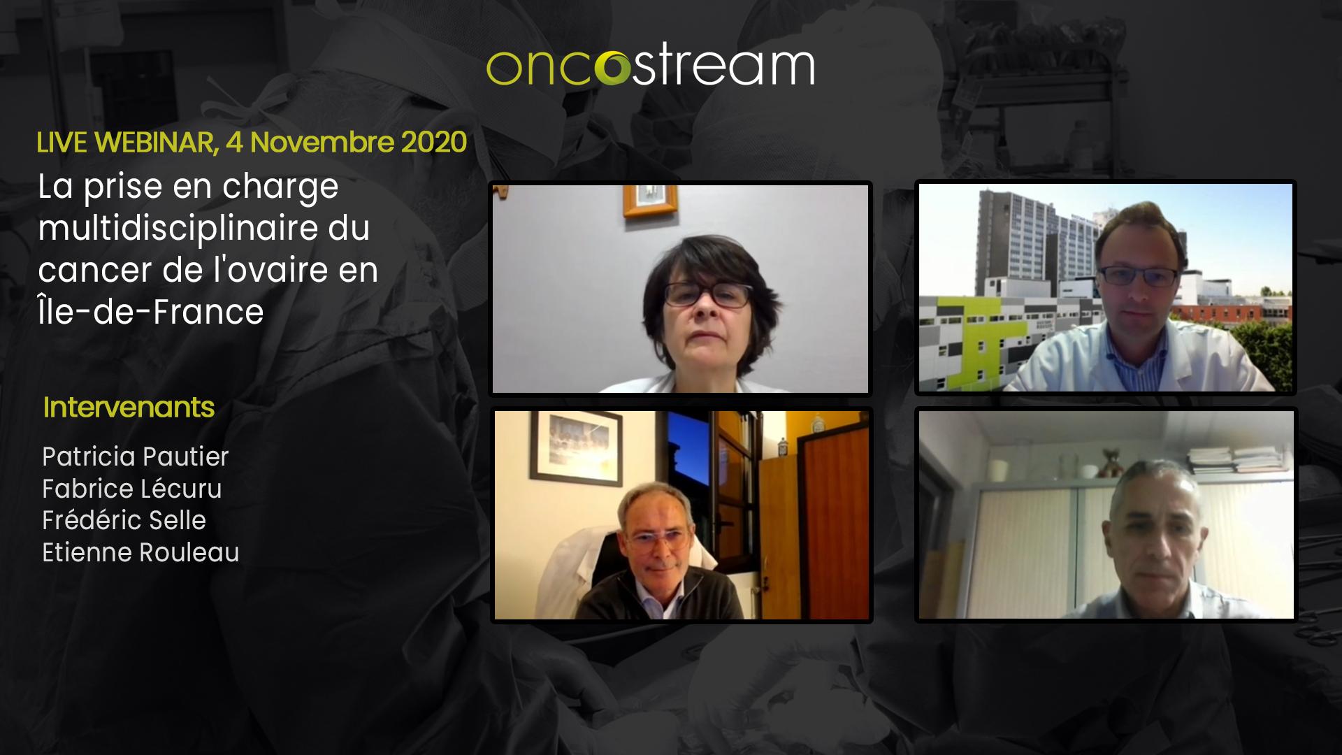 La prise en charge multidisciplinaire du cancer de l'ovaire en Île-de-France