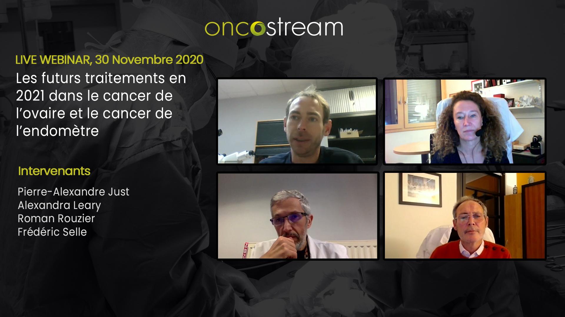 Les futurs traitements en 2021 dans le cancer de l'ovaire et le cancer de l'endomètre